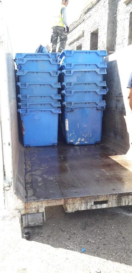 Δήμος Πύργου- Υπηρεσία Καθαριότητας και Πρασίνου: Απόσυρση παλαιών κατεστραμμένων μπλε κάδων ανακύκλωσης σήμερα και αντικατάσταση τους με καινούργιους εντός της επόμενης εβδομάδας
