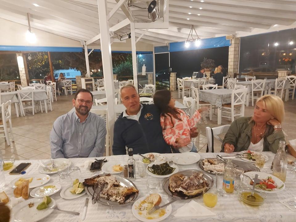 Ηλεία: Βορίδης και Κοροβέσης συζήτησαν τρία θέματα του Νομού σε φιλική συνάντηση στον Κακόβατο