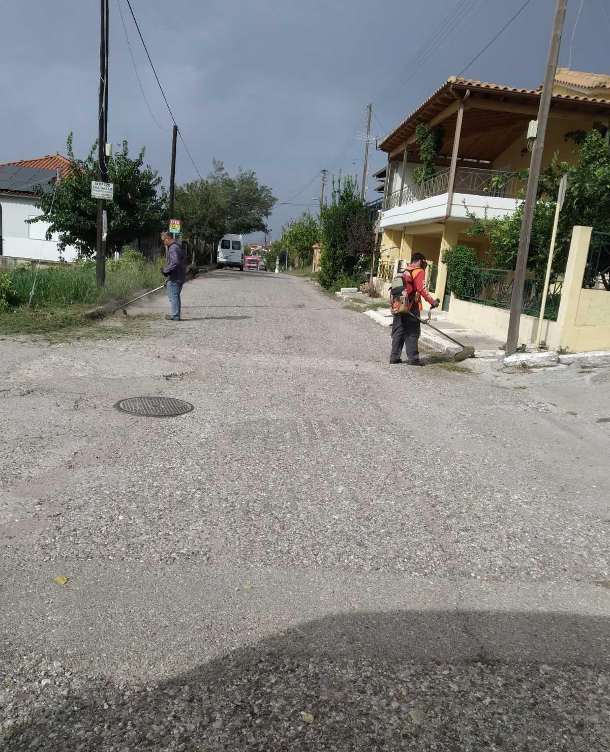Καίριες παρεμβάσεις σε όλο  το δήμο Ανδρίτσαινας-Κρεστένων - Διον. Μπαλιούκος: «Γίνεται σημαντική δουλειά στα χωριά μας»