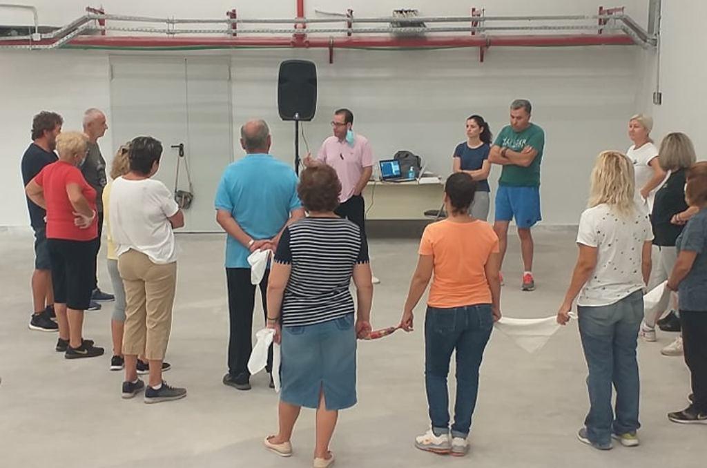 Αμαλιάδα: Επίσκεψη Γ. Μπακέλα στον Πολυχώρο και το κτίριο του Ραδιοφωνικού Σταθμού- Λειτουργούν χορευτικό τμήμα και Ωδείο στο Δήμο Ήλιδας