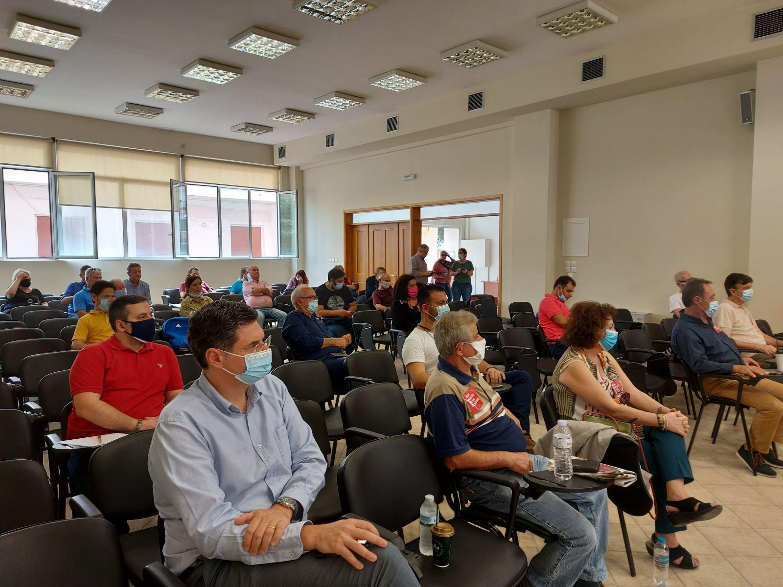 Συνεδρίαση Νομαρχιακής Επιτροπής ΣΥΡΙΖΑ ΗΛΕΙΑΣ στην Αμαλιάδα (photos)