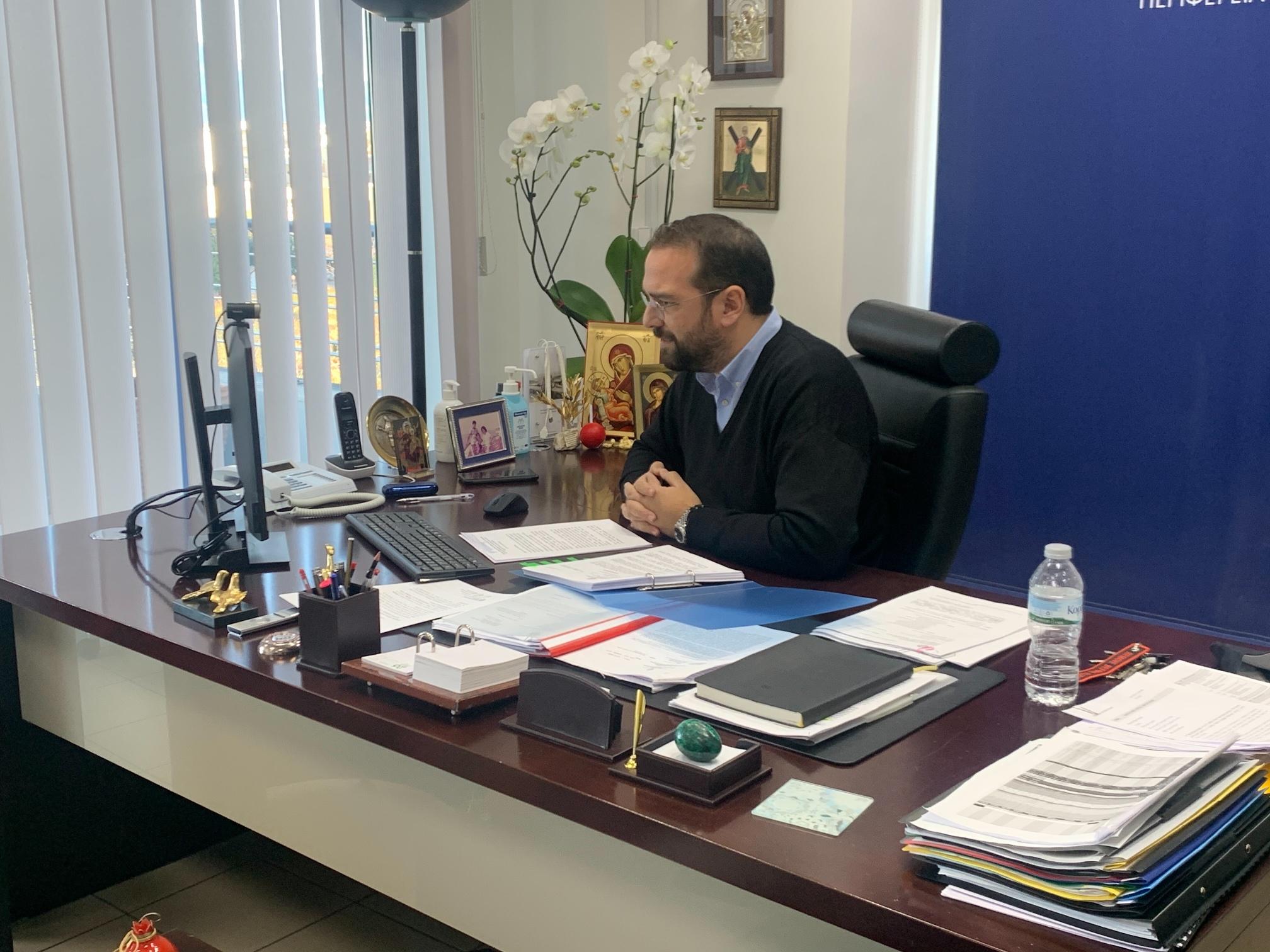 """Ν. Φαρμάκης: «Τοπική Αυτοδιοίκηση και Πανεπιστήμιο: Μια σχέση win – win που πρέπει να αγκαλιάσει το σύνολο της Δυτικής Ελλάδας» - Πρύτανης Χρ. Μπούρας: «Eίμαστε Πανεπιστήμιο της Περιφέρειας Δυτ. Ελλάδας"""""""