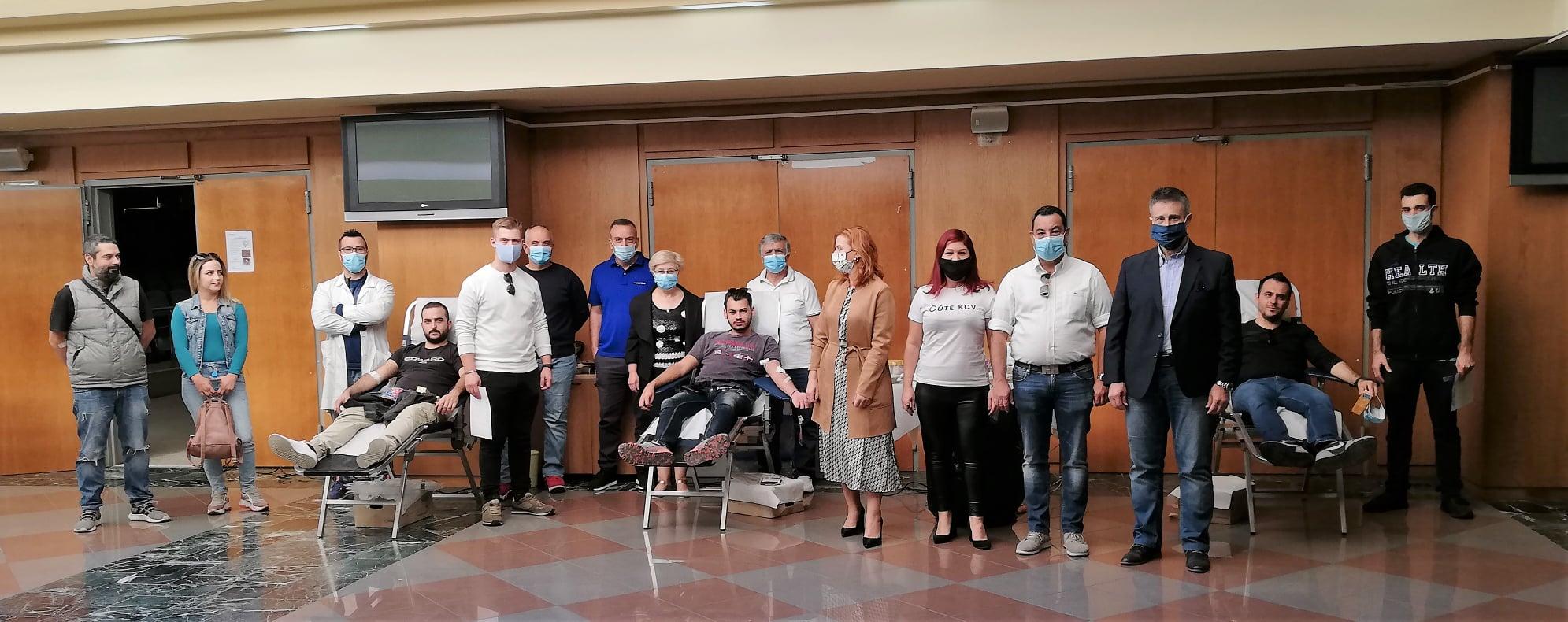 Πύργος: Με επιτυχία και πολλές μονάδες αίματος η Εθελοντική Αιμοδοσία της Τράπεζας Αίματος του 6ου Δημοτικού Σχολείου