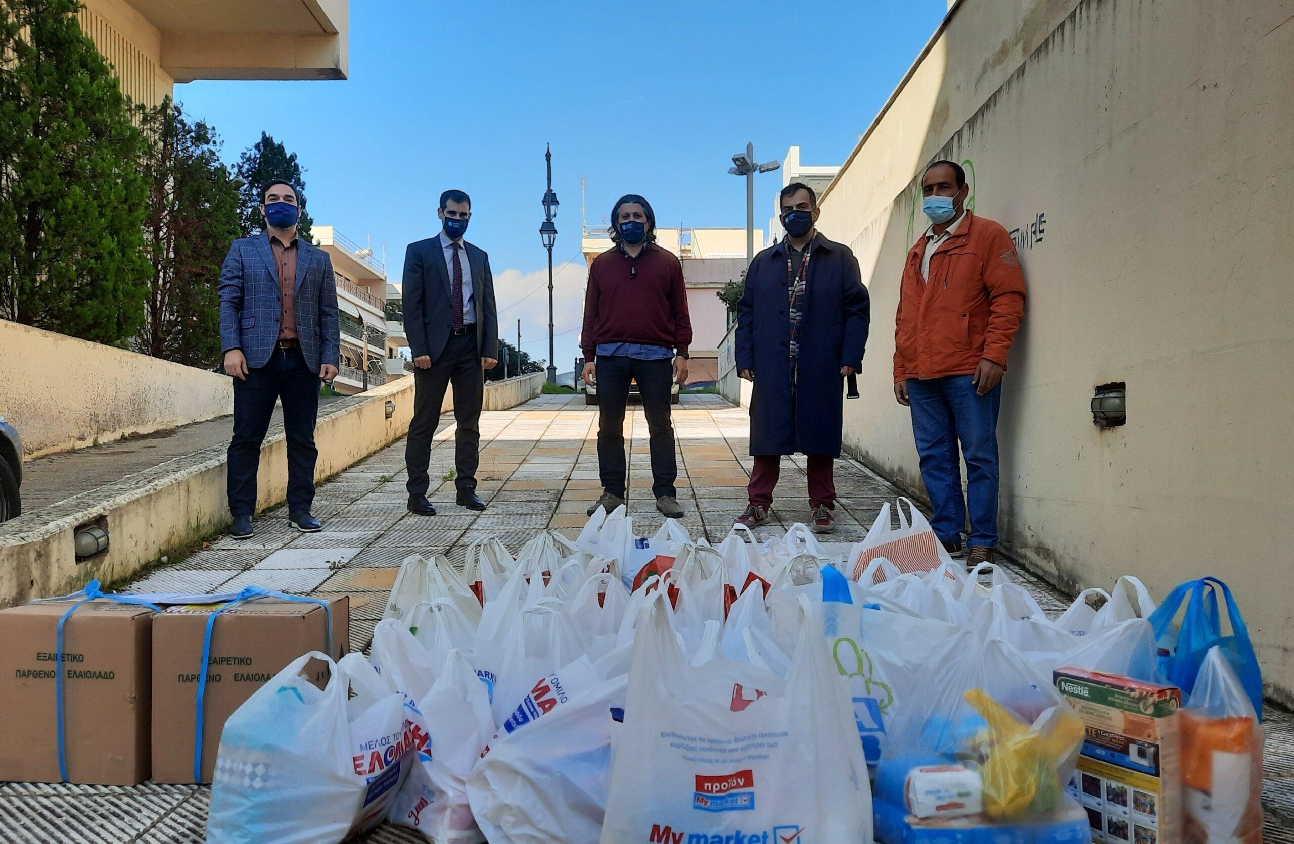Πύργος: Μεγάλη ανταπόκριση στην φιλανθρωπική δράση συγκέντρωσης και διανομής τροφίμων από Π.Ε Ηλείας - Σύλλογο Υπαλλήλων