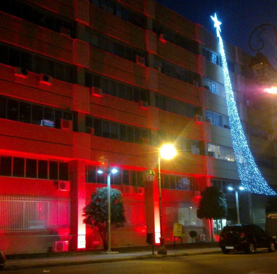 Πύργος: Η Περιφέρεια Δυτικής Ελλάδας συμμετείχε χθες στην Παγκόσμια ημέρα κατά του AIDS – Φώτισε κόκκινα τα κτίρια της σε Πύργο, Πάτρα, Μεσολόγγι