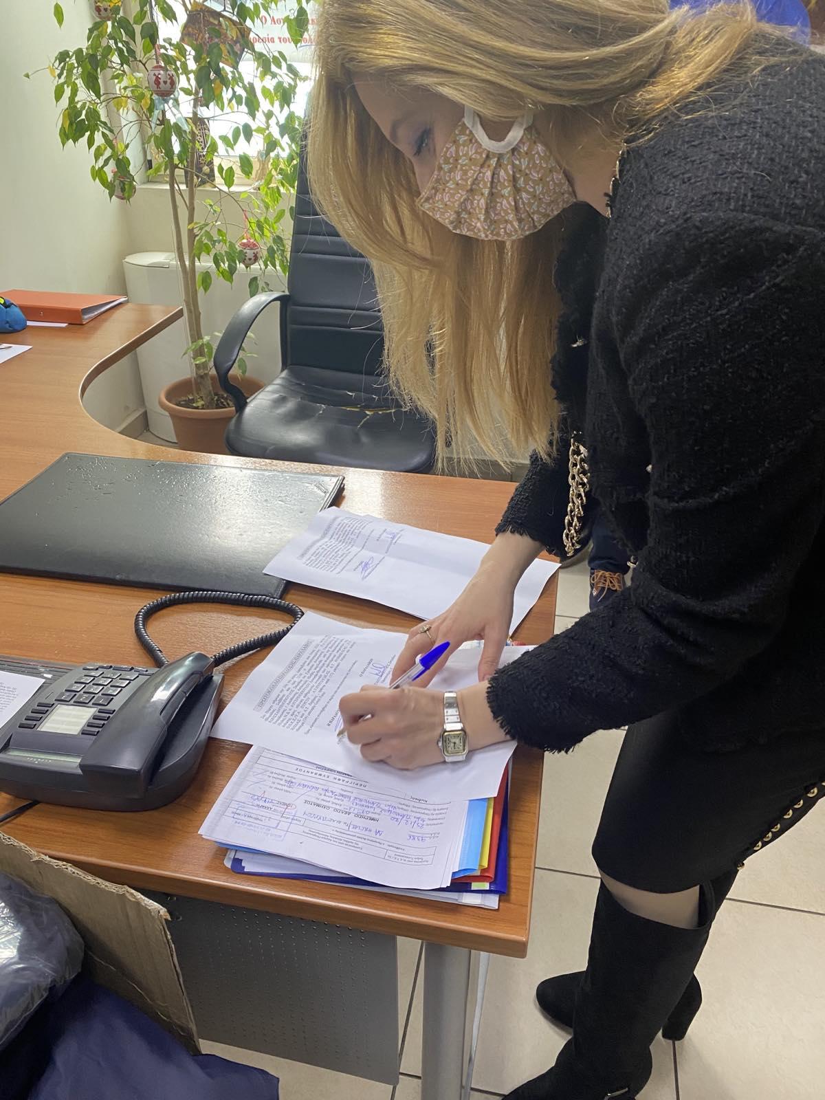 Πύργος: Σημαντική δωρεά προς την Διεύθυνση Αστυνομίας Ηλείας από την Βουλευτή Διονυσία Αυγερινοπούλου