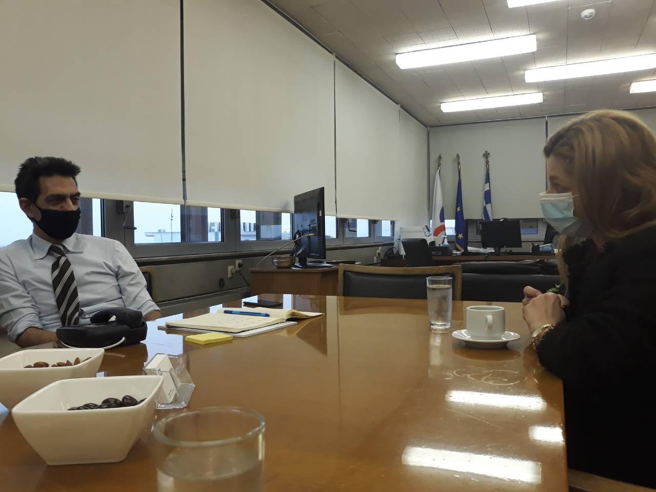 Αυγερινοπούλου: Συνάντηση εργασίας με ΟΣΕ για την επαναλειτουργία της γραμμής Πάτρας – Πύργου- Αίτημα της Βουλευτού η επέκταση μέχρι την Κυπαρισσία