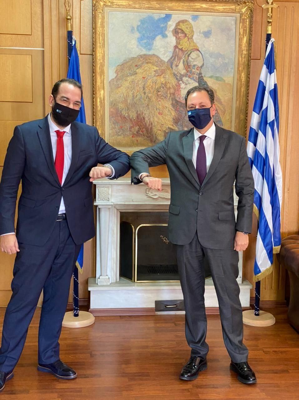 ΠΔΕ: Επαφές Νεκτάριου Φαρμάκη με κυβερνητικά στελέχη στην Αθήνα – Σε πρώτο πλάνο η ενίσχυση του πρωτογενούς τομέα και της τοπικής επιχειρηματικότητας (photos)