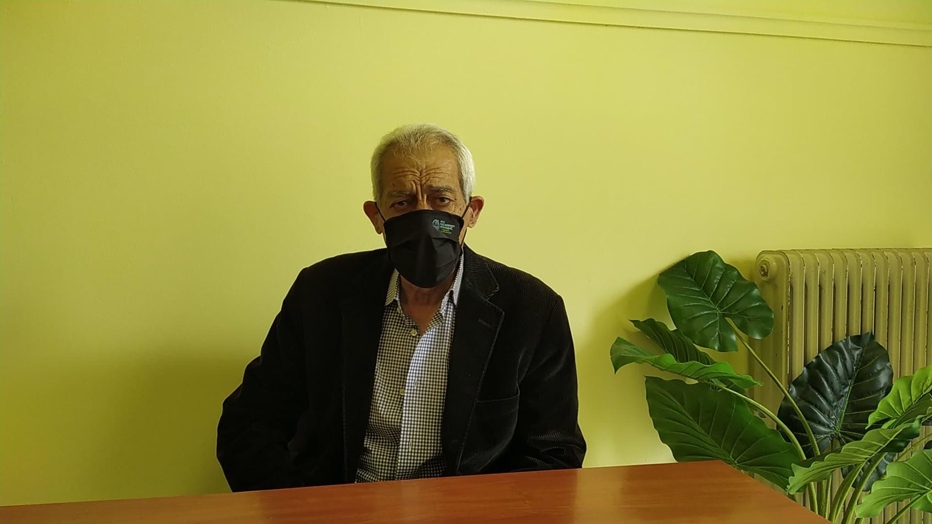 Αμαλιάδα: Εμβολιάστηκε για τον covid-19 ο Δήμαρχος Ήλιδας Γ. Λυμπέρης: «Προτείνω και λέω στους συμπολίτες μας, να μην υπάρχει ενδοιασμός»