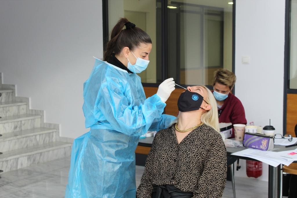 Δήμος Ήλιδας: Προληπτικά «rapid test» στους εργαζόμενους (photos)