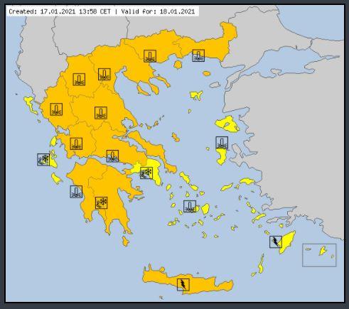 ΠΔΕ: Έκτακτο Δελτίο Επικίνδυνων Καιρικών Φαινομένων από την ΕΜΥ και για τη Δυτική Ελλάδα- Τι να προσέξουν οι πολίτες