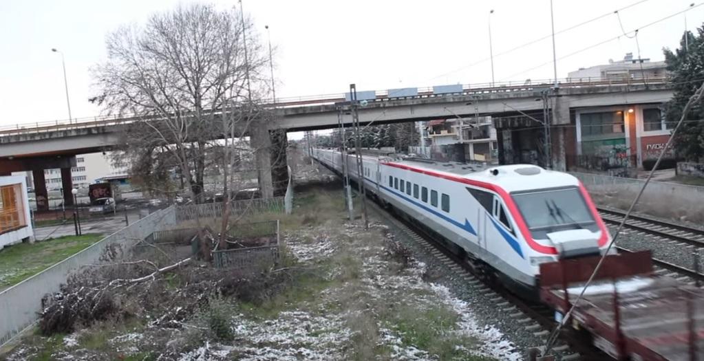 Έφτασε στη Θεσσαλονίκη το πρώτο ιταλικό τρένο υψηλών ταχυτήτων της ΤΡΑΙΝΟΣΕ (photos-ΒΙΝΤΕΟ)