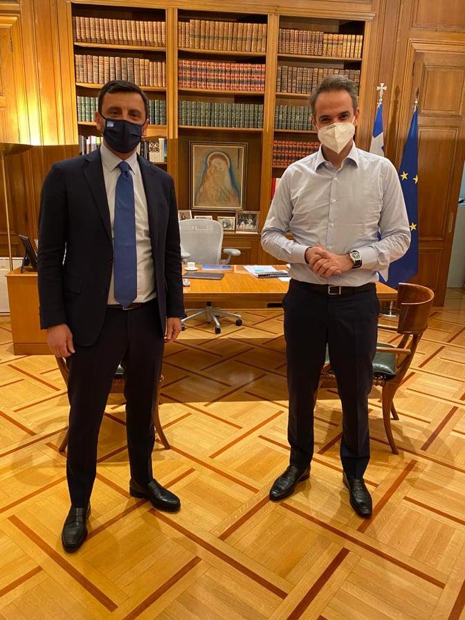 Ανδρέας Νικολακόπουλος: Ο δρόμος Πύργου-Πατρών είναι προτεραιότητα και θα γίνει από την κυβέρνησή μας- Ιδιαίτερα σημαντική συνάντηση με τον πρωθυπουργό στο Μέγαρο Μαξίμου