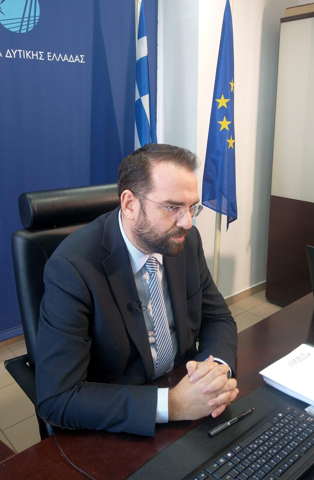 ΠΔΕ: Ο απολογισμός του Περιφερειάρχη για το 2020 – Ν. Φαρμάκης: «Ανοίξαμε τον δρόμο του μέλλοντος για τη Δυτική Ελλάδα»