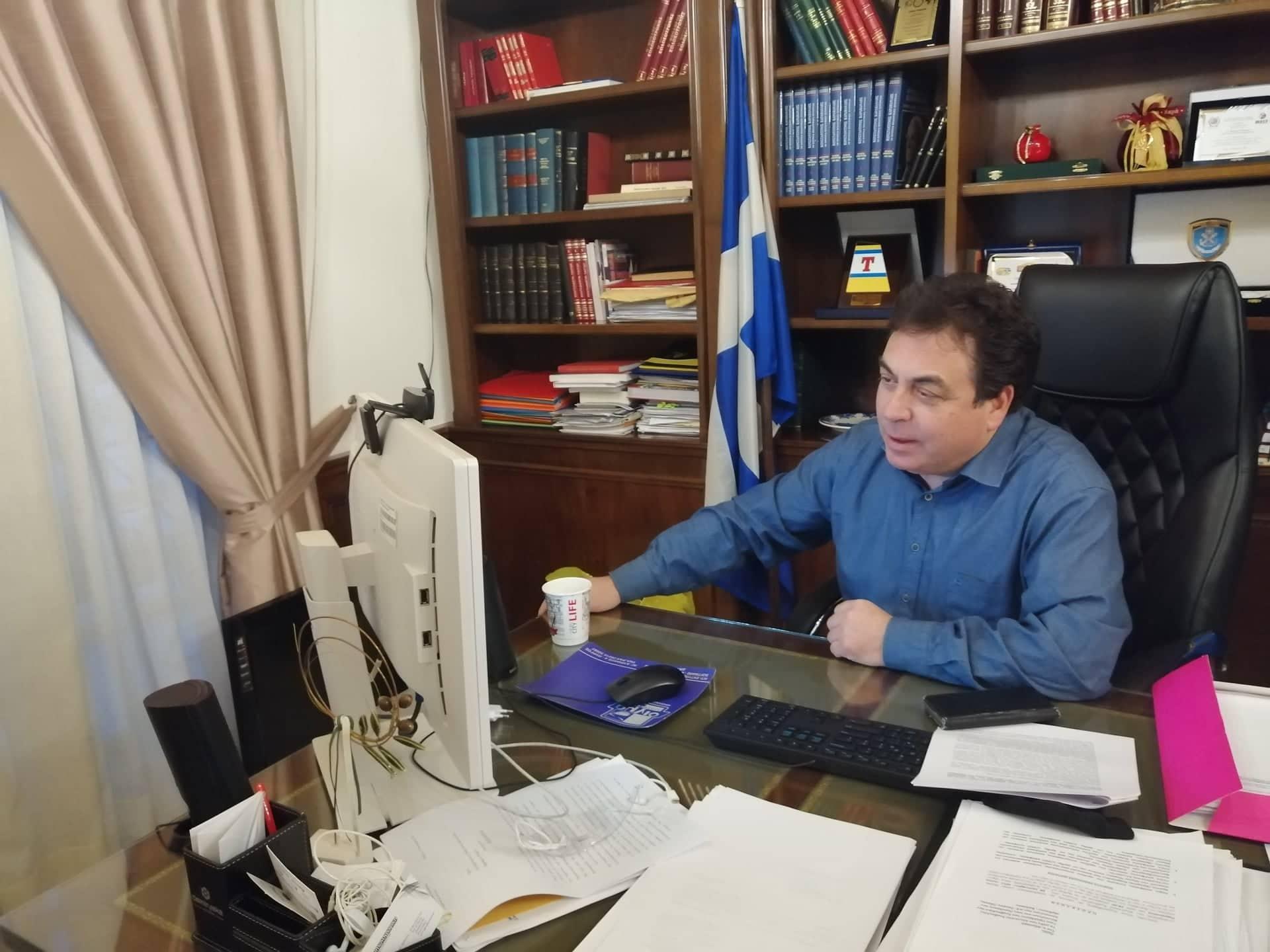 Δήμαρχος Πύργου Παν. Αντωνακόπουλος: «Κοινωνικό μέτωπο με αξιώσεις και αγώνες η μόνη λύση για το Τμήμα Μουσειολογίας Πύργου» (photos)