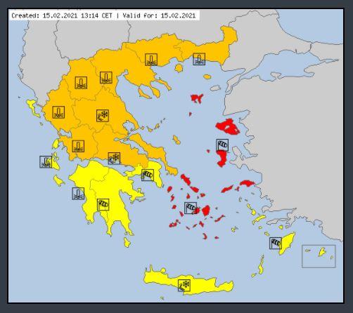 ΠΔΕ: Έκτακτο Δελτίο Επιδείνωσης Καιρού από την ΕΜΥ- Δείτε ποιες περιοχές θα χτυπήσει