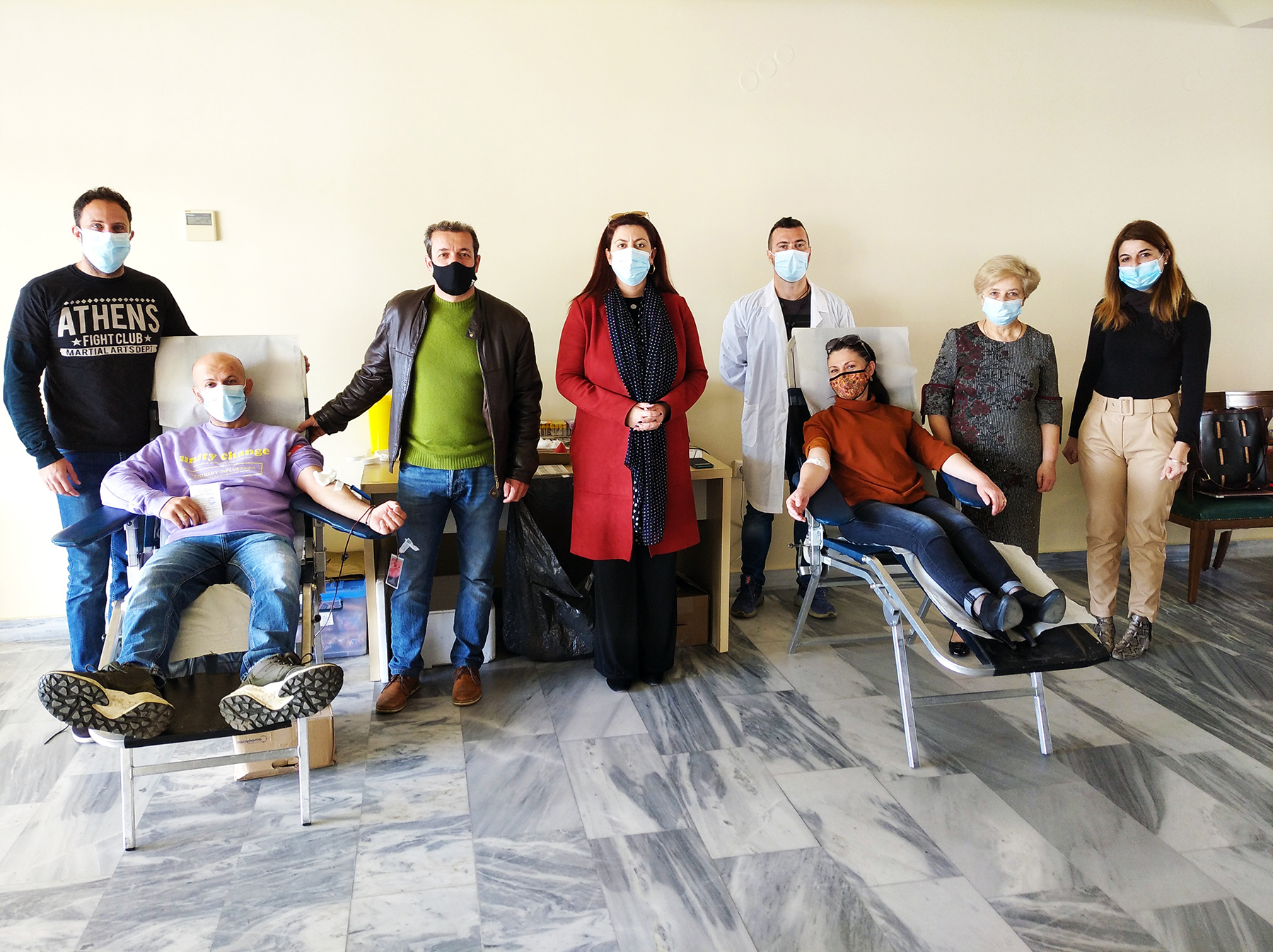 Με επιτυχία η αιμοδοσία στον Δήμο Αρχαίας Ολυμπίας (photos)