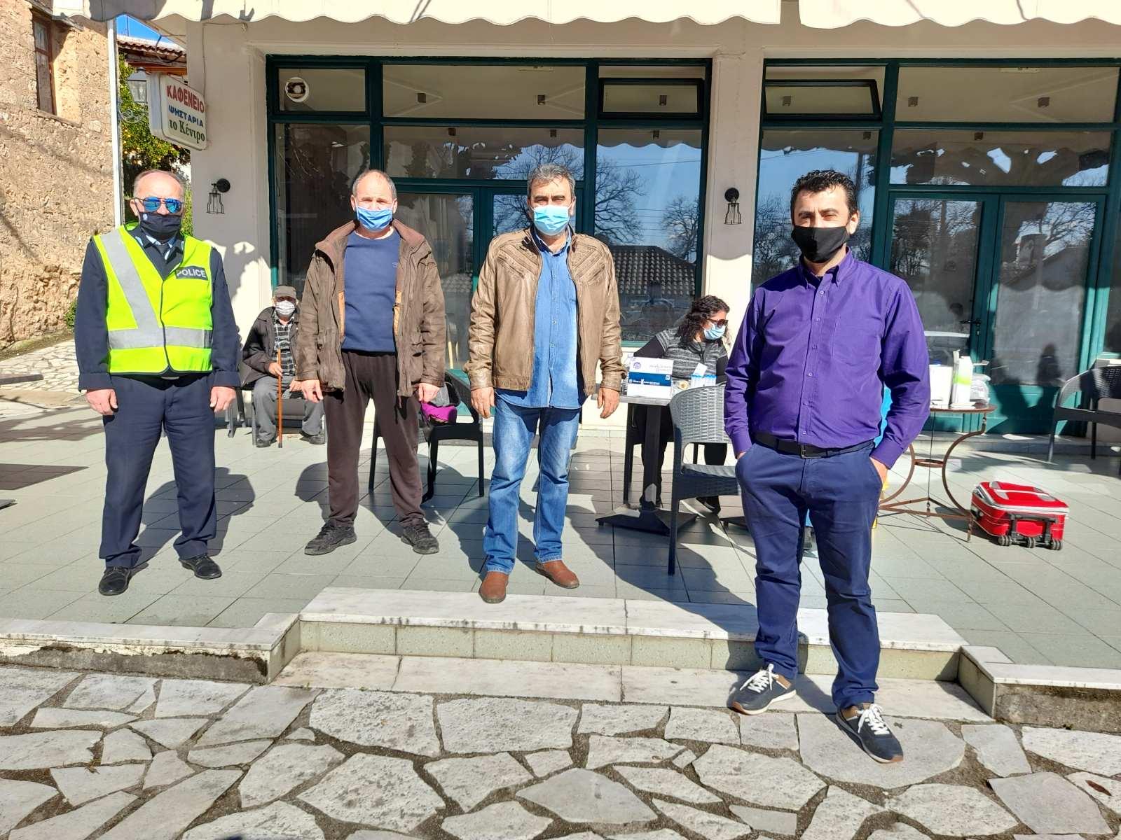 Δήμος Αρχαίας Ολυμπίας: Αρνητικά τα rapid tests σε Πανόπουλο - Βασιλάκι (photos)