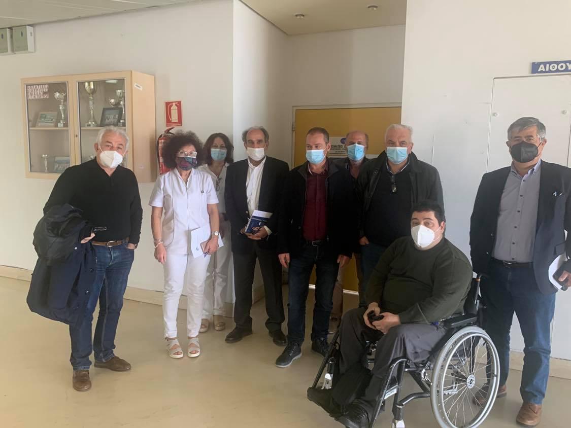 Απόστολος Κατσιφάρας: Σταθερά δίπλα στους εργαζόμενους στην Υγεία (photos)