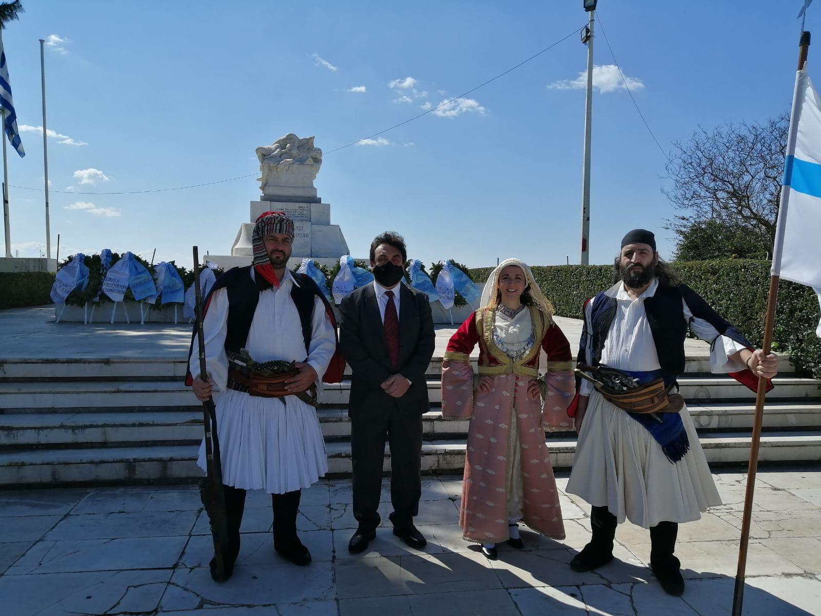 Δήμος Πύργου: Με δοξολογία στο Μητροπολιτικό Ναό Αγ. Νικολάου και κατάθεση στεφάνων στο Μνημείο Ηρώων ο φετινός εορτασμός της 25ης Μαρτίου (photos)