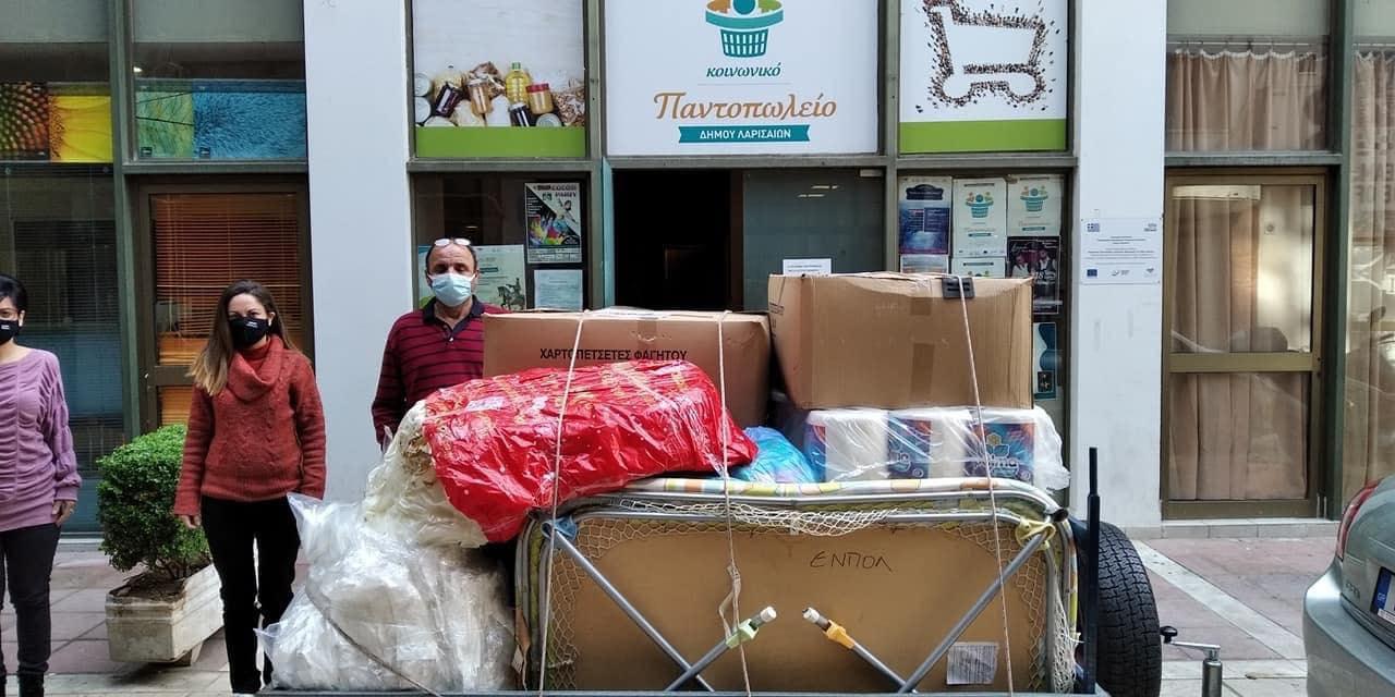 Δήμος Πύργου: Υλικές προμήθειες από το Γραφείο Εθελοντισμού στους σεισμοπαθείς της Λάρισας (photos)