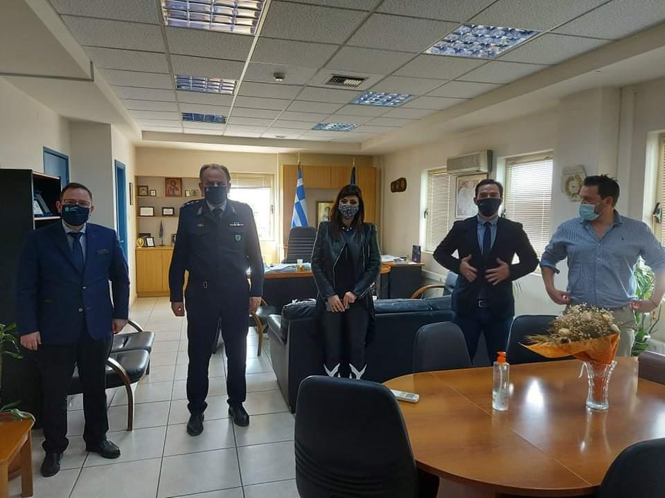 ΠΔΕ: Επισκέψεις στα Σώματα Ασφαλείας της Ηλείας (photos)