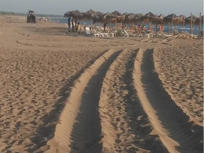 """Οικολογική Δυτική Ελλάδα: """"Οι θίνες και οι παραλίες δεν είναι πίστες"""""""