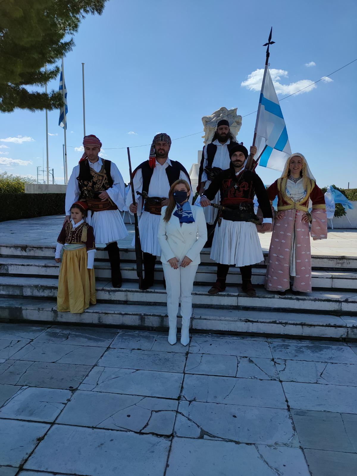 Μήνυμα Δ. Αυγερινοπούλου για την Επέτειο των 200 ετών από την Επανάσταση του 1821: «Τα ελληνικά ιδεώδη ενέπνευσαν, εμπνέουν και θα εμπνέουν!» (photos)