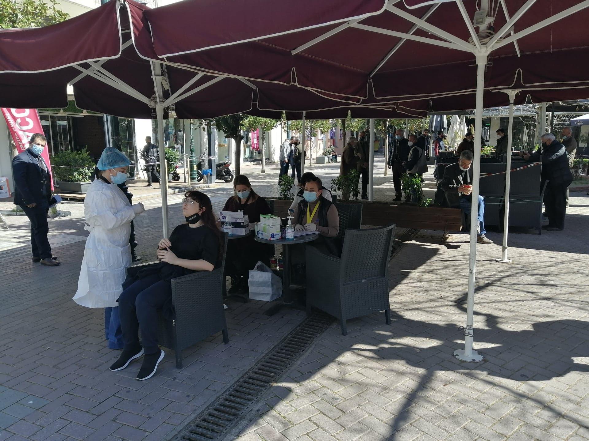 Δήμος Πύργου: Επαναλαμβάνονται τα rapid testαπό κλιμάκιο του ΕΟΔΥ στην πλατεία Δικαστηρίων την Τρίτη 16/3- Μεγάλη προσέλευση πολιτών στα σημερινά rapid test (photos)