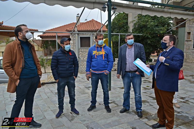 Επίσκεψη του Περιφερειάρχη Ν. Φαρμάκη σε Ζαχάρω και Ν. Φιγαλεία: Προγραμματίζονται σοβαρά έργα υποδομής στην περιοχή