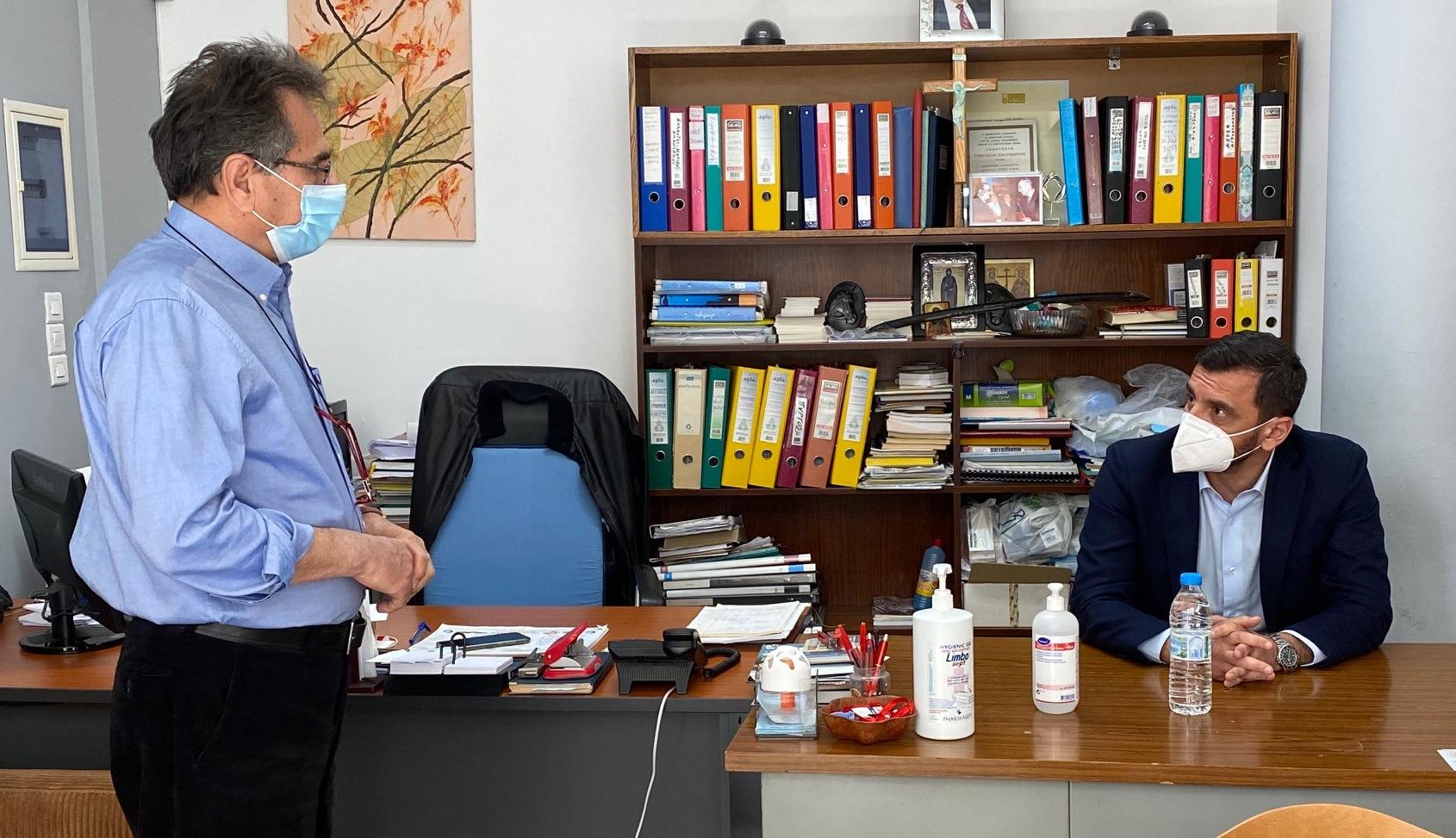 """Ανδρέας Νικολακόπουλος: Επίσκεψη στην """"Ανθρώπινη Αλληλεγγύη"""""""