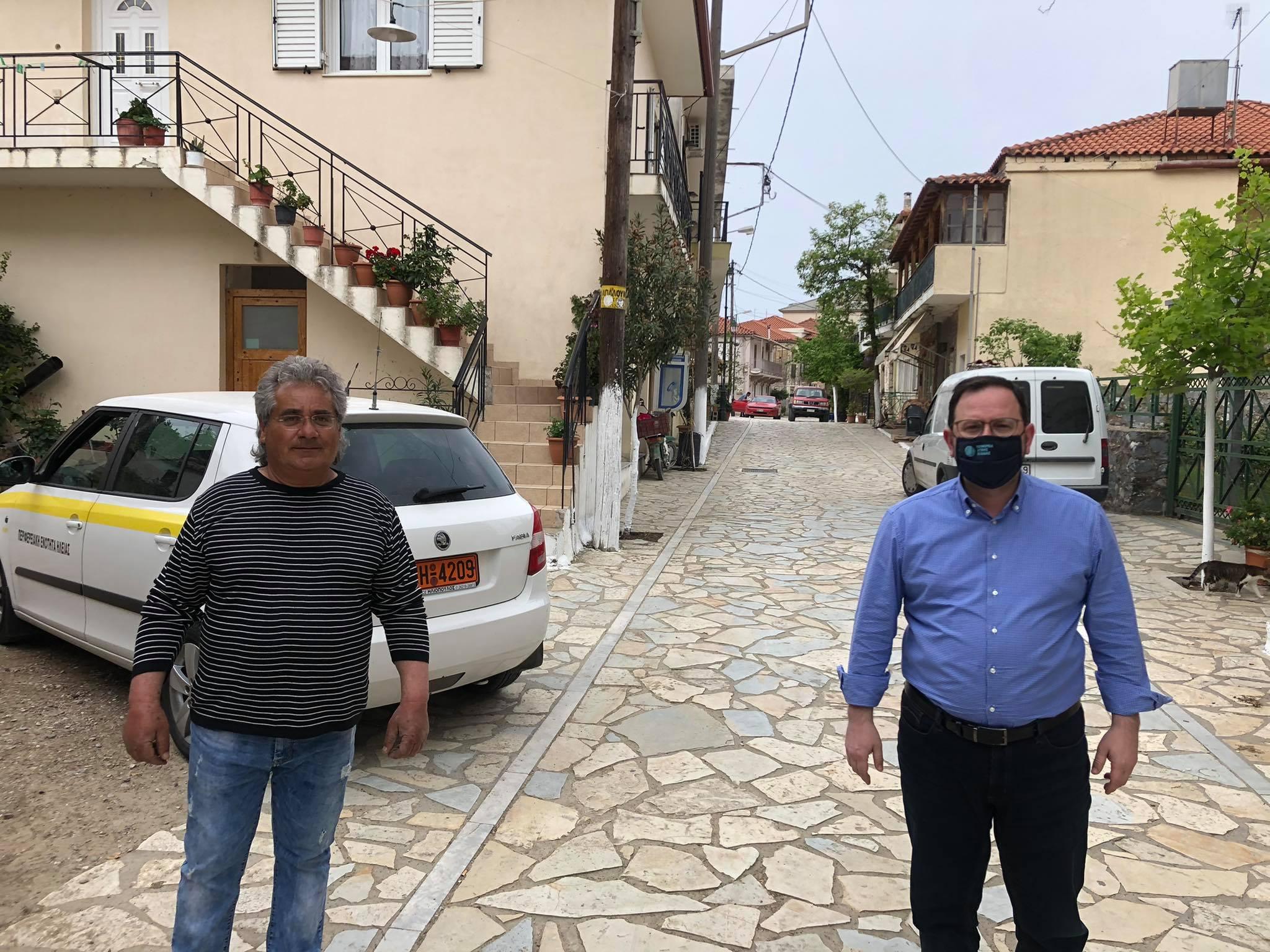 Μπαράζ επισκέψεων του Αντιπεριφερειάρχη Πολιτισμού & Τουρισμού κ. Νίκου Κοροβέση σε χωριά του Δήμου Αρχαίας Ολυμπίας (photos)