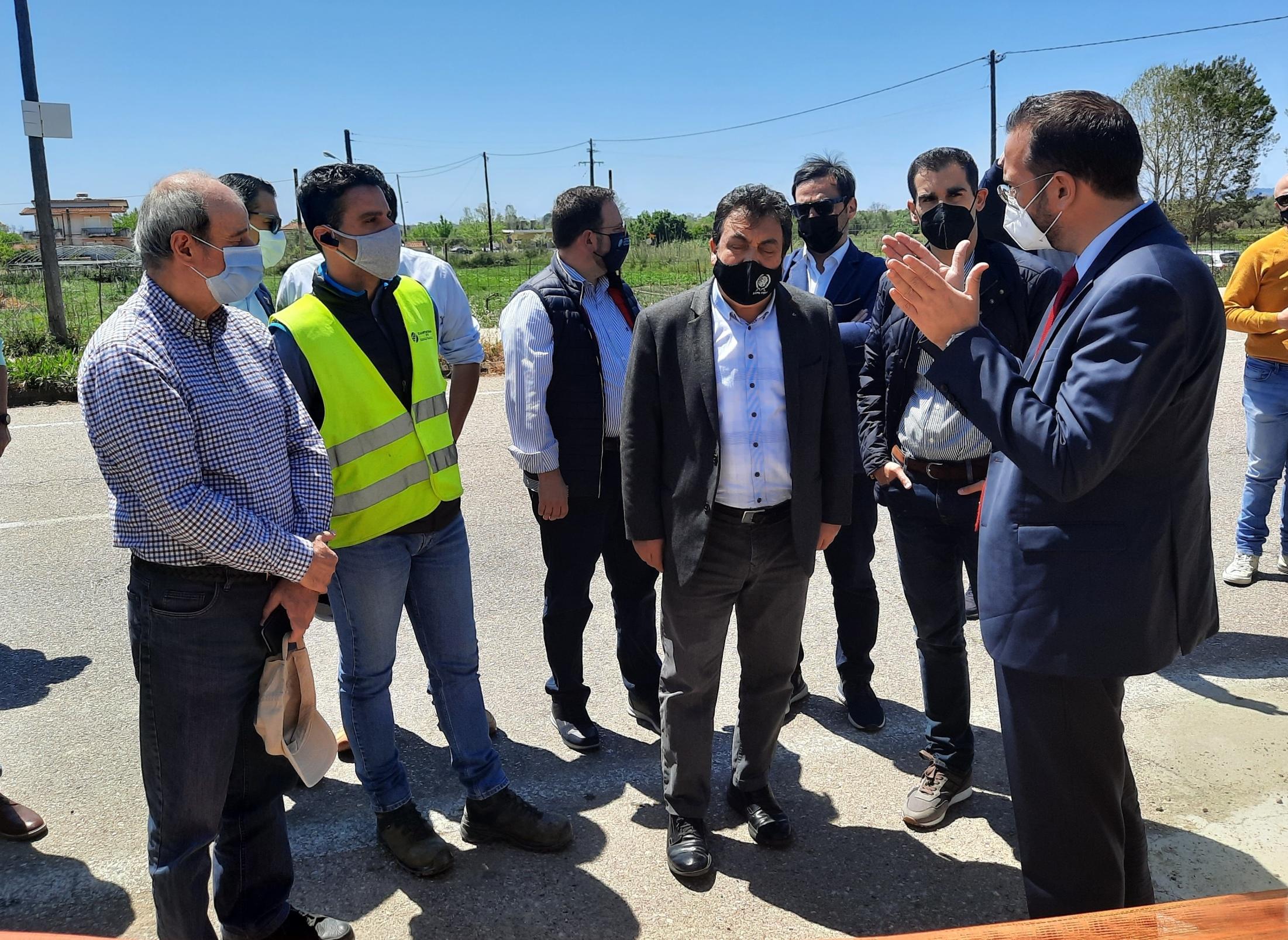 Πύργος: Επίσκεψη Περιφερειάρχη Δυτικής Ελλάδας Νεκτάριου Φαρμάκη σε δυο σημαντικά αναπτυξιακά έργα ΟΧΕ που είναι σε εξέλιξη για την περιοχή ( photos)