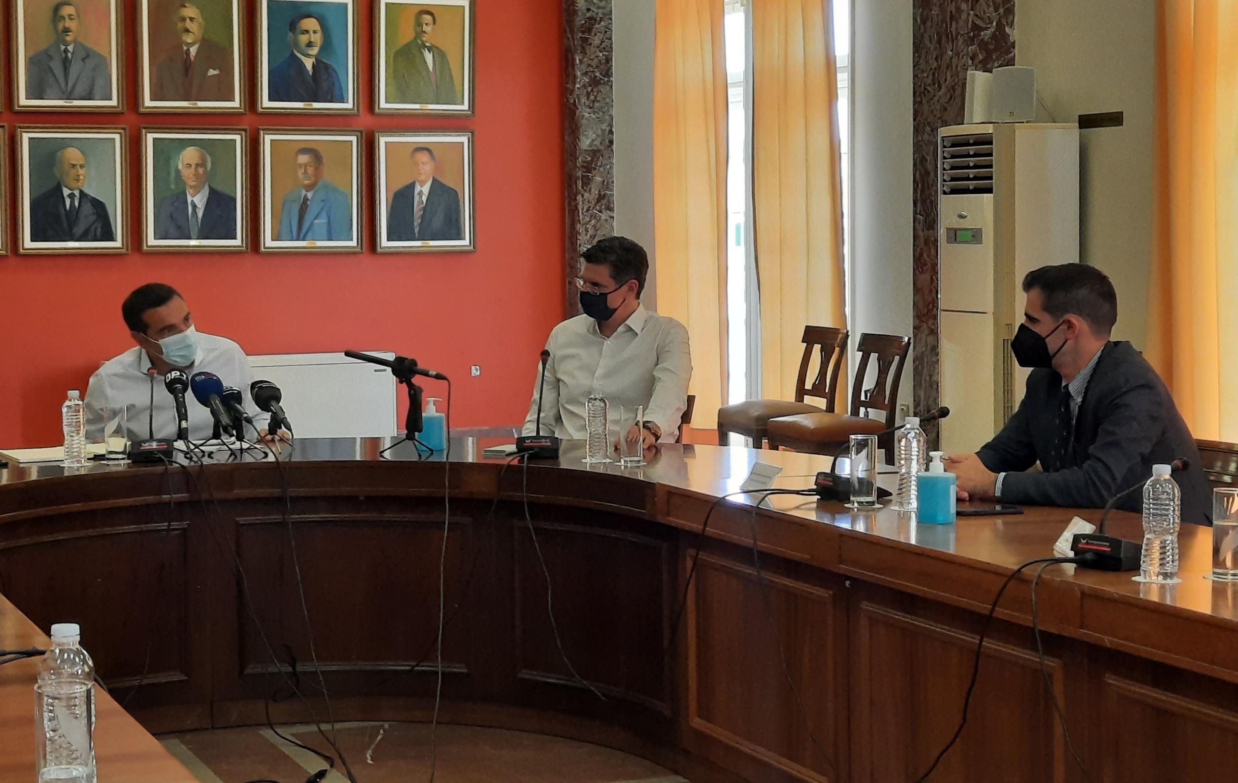 Πύργος: Τοποθέτηση Αντιπεριφερειάρχη Π.Ε Ηλείας Β. Γιαννόπουλου, στην συνάντηση με τον Πρόεδρο του ΣΥΡΙΖΑ- ΠΣ, Αλέξη Τσίπρα