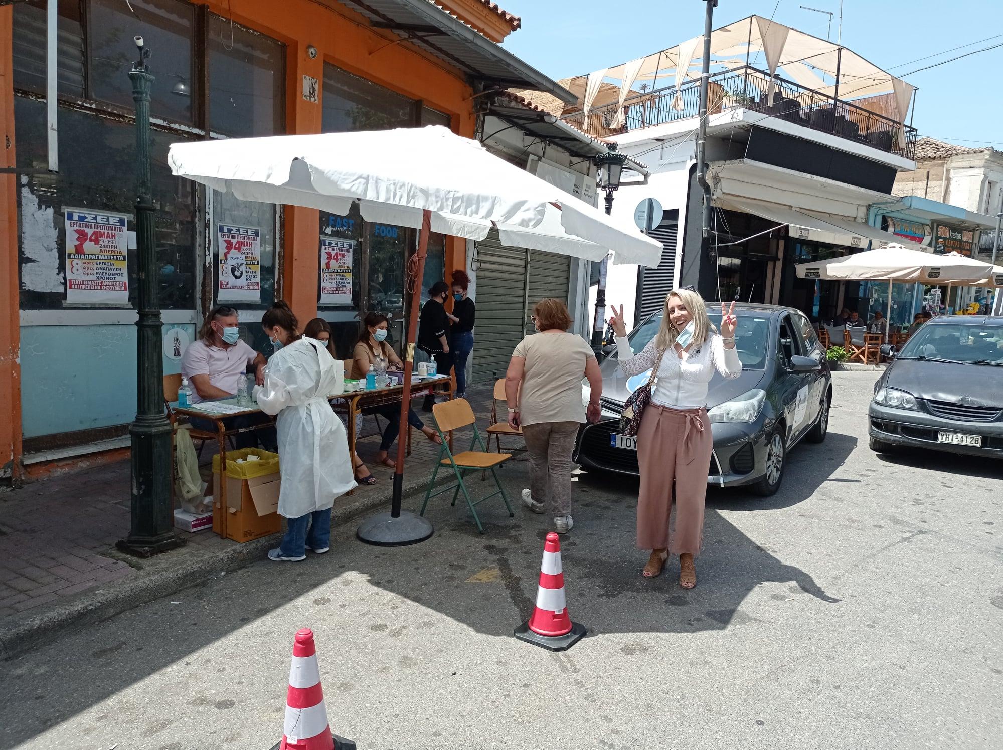 Δήμος Ανδρίτσαινας-Κρεστένων: Αρνητικά όλα τα rapid test που έγιναν σήμερα Τετάρτη 26/5 στην Κρέστενα (photos)