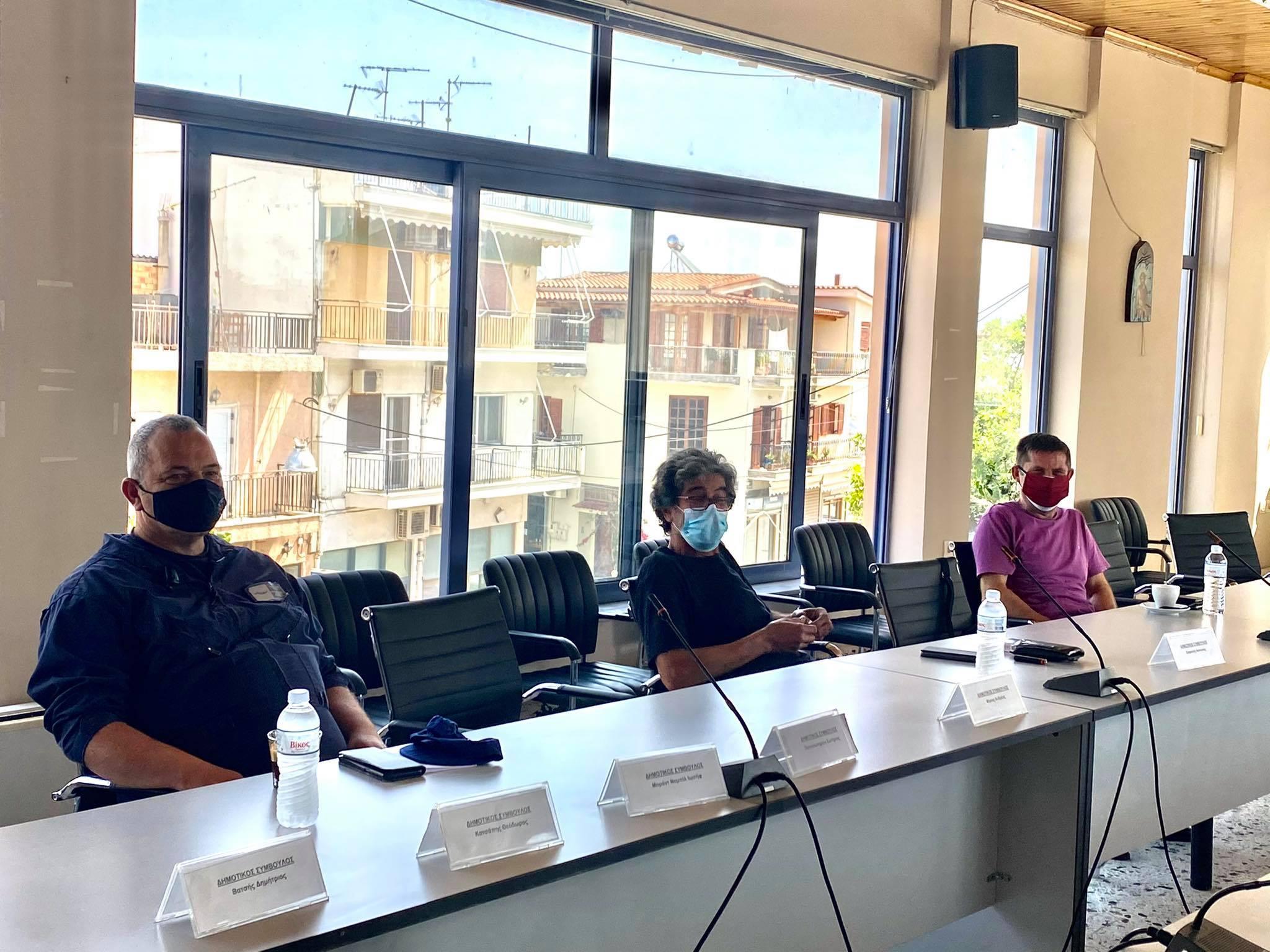Συνεδρίασε το Συντονιστικό Τοπικό Όργανο (ΣΤΟ) του Δήμου Ανδραβίδας-Κυλλήνης ενόψει της αντιπυρικής περιόδου (photos)
