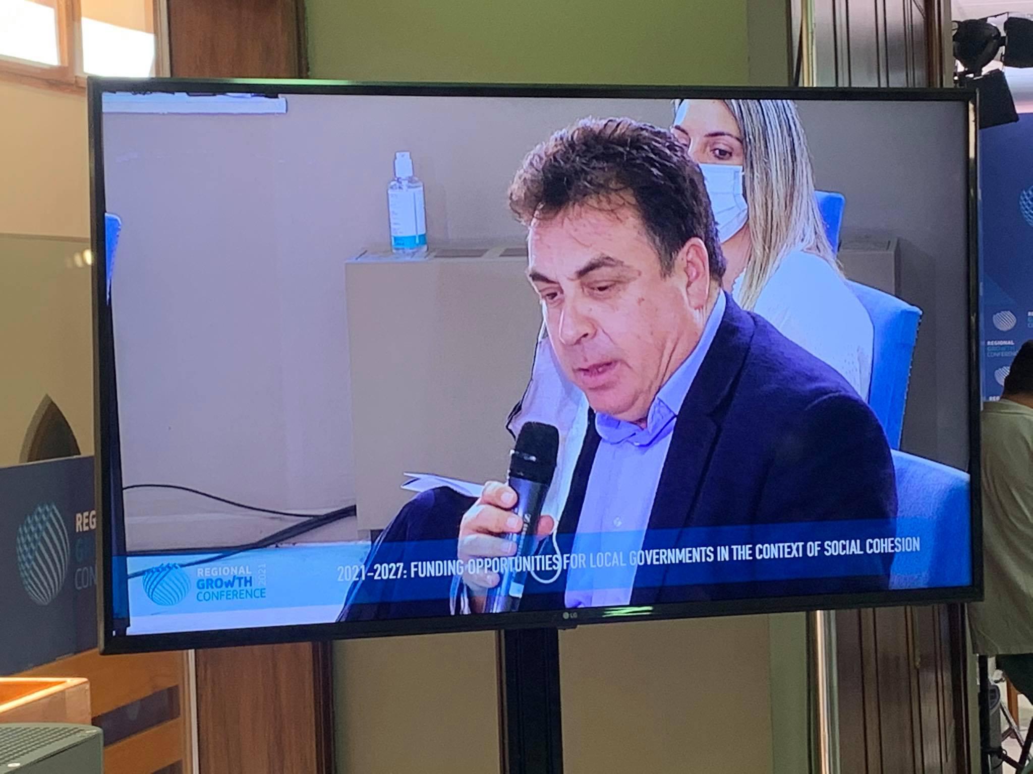 Ο δήμαρχος Πύργου στο Συνέδριο Περιφερειακής Ανάπτυξης RGC- Π. Αντωνακόπουλος: «Η καταστροφική γραφειοκρατία διαιωνίζει την εξουσία της»