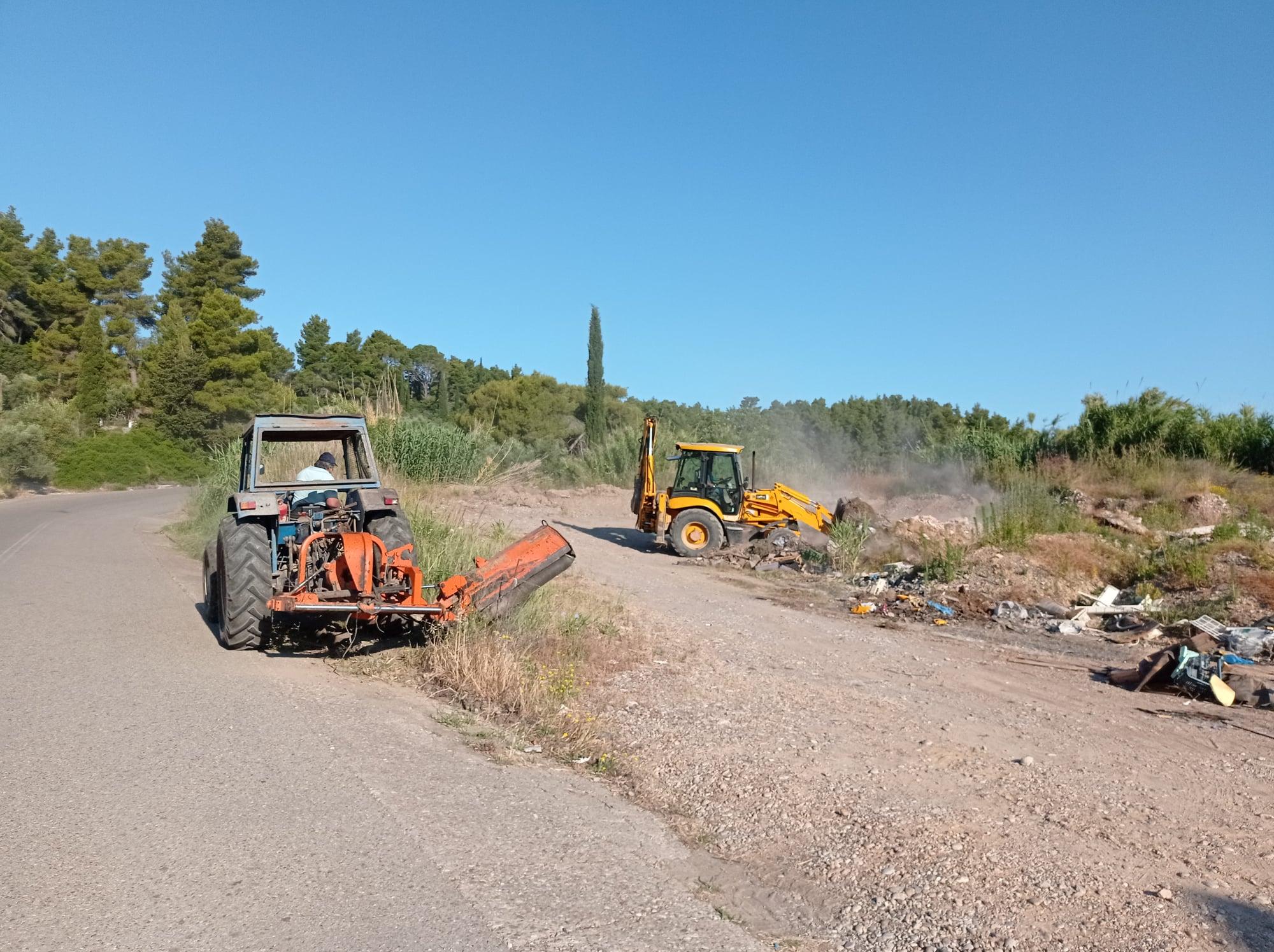 Δήμος Ανδρίτσαινας-Κρεστένων: Απομακρύνθηκανοιμικρέςχωματερές στην παραποτάμια ζώνη του Δήμου (photos)