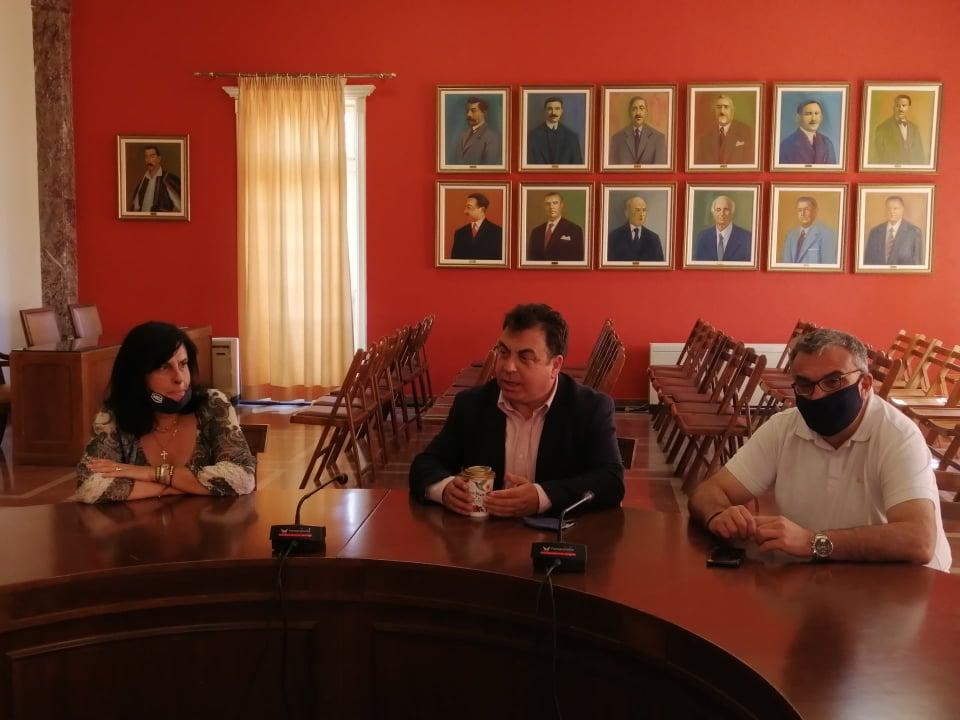 Δήμος Πύργου: Συνάντηση δημάρχου με τη διευθύντρια και τους σπουδαστές του ΕΠΑΣ ΟΑΕΔ - Π. Αντωνακόπουλος «Ο μεγαλύτερος αναπτυξιακός θεσμός του Δήμου είναι ο άνθρωπος»