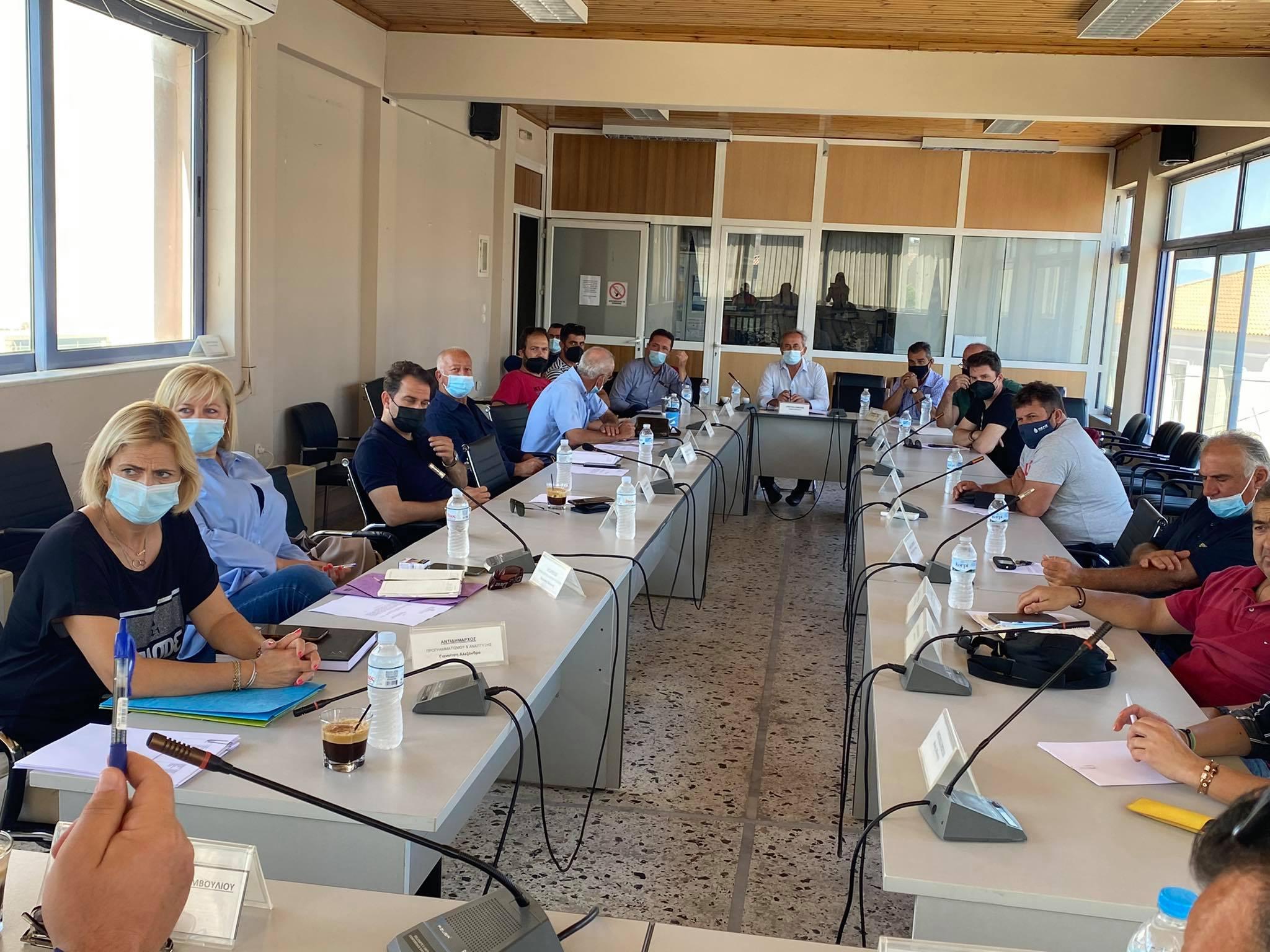 Δήμος Ανδραβίδας-Κυλλήνης: Σύσκεψη με του Προέδρους των Κοινοτήτων του Δήμου για την αντιπυρική θωράκιση