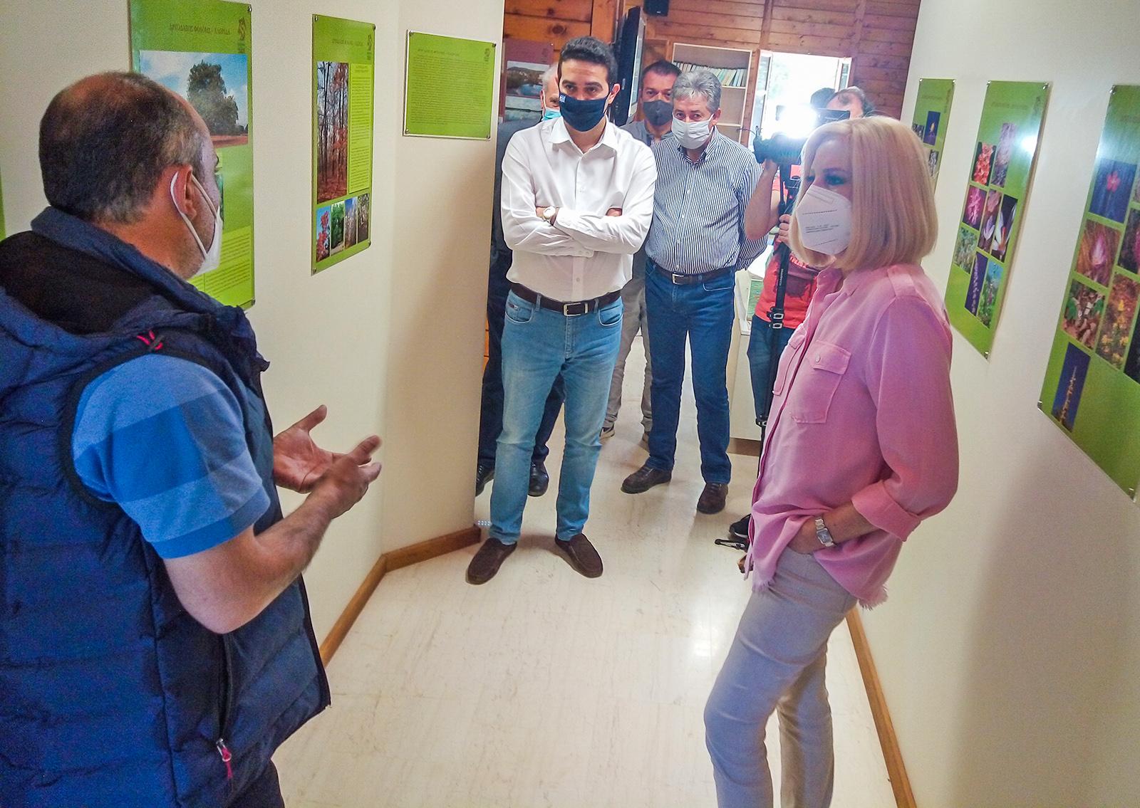 Φώφη Γεννηματά από τη Φολόη: Το δάσος Φολόης μπορεί να γίνει πρότυπο οικολογικής και τουριστικής ανάπτυξης (photos)