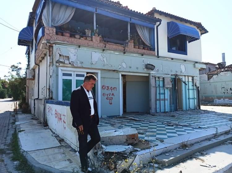 Δημήτρης Κωνσταντόπουλος: Ο Δήμαρχος Γιάννης Λυμπέρης, η Δημοτική Αρχή και η εγκατάλειψη της Κουρούτας !!!