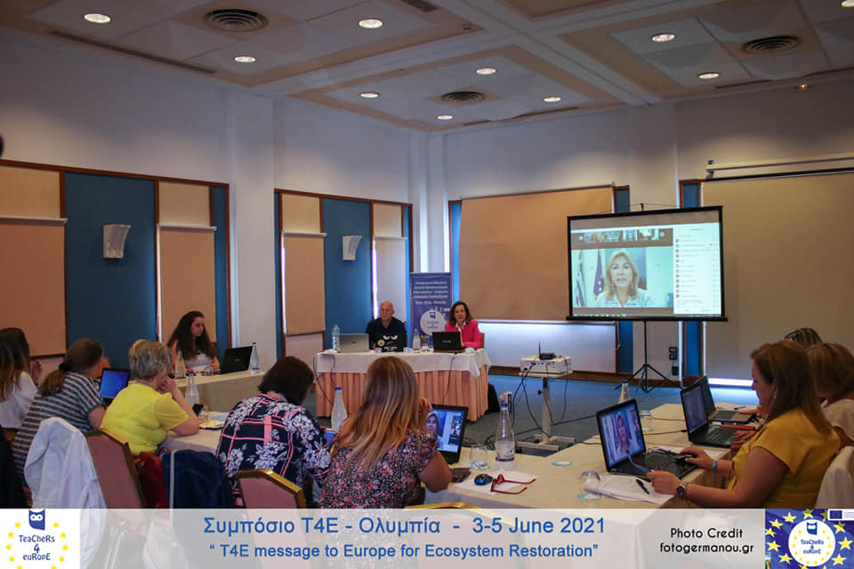 Οι Teachers4Europe, η Ευρώπη και το Περιβάλλον- Με επιτυχία ολοκληρώθηκε το Συμπόσιο στην Ηλεία,  3-5 Ιουνίου 2021