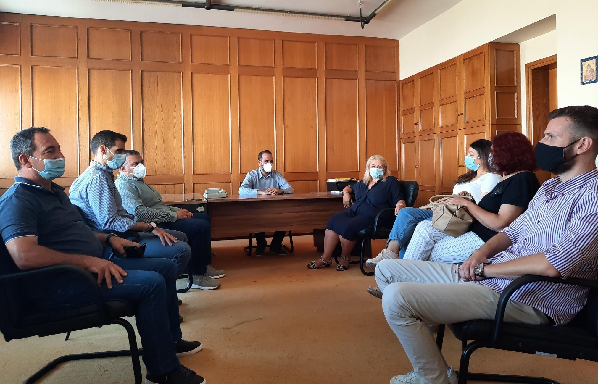 Π.Ε Ηλείας: Σημαντικές συσκέψεις και συναντήσεις από τον Περιφερειάρχη Δυτικής Ελλάδας Νεκτάριο Φαρμάκη που βρίσκεται για δεύτερη ημέρα στο Νομό (photos)