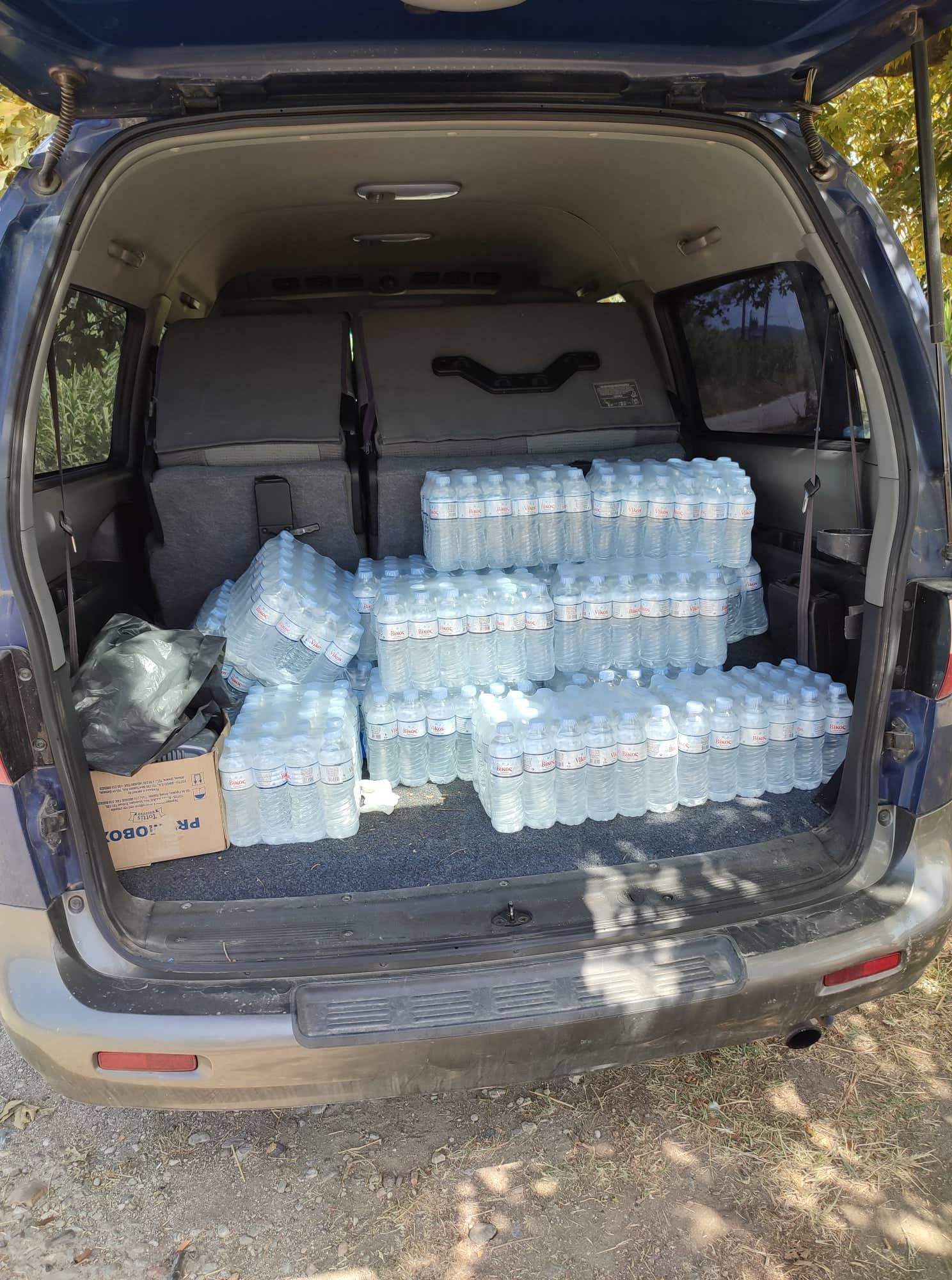 Δήμος Πύργου: Διανομή νερών σε ευπαθείς ομάδες