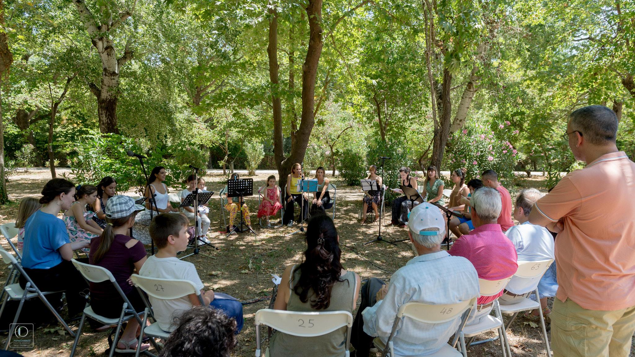 Διεθνές Φεστιβάλ Τεχνών Αρχαίας Ολυμπίας - Εκπαιδευτικές & Κοινωνικές Δράσεις της ΕΛΣ- Ο συναρπαστικός χώρος του μουσικού θεάτρου από τη Λυρική στην Ολυμπία (photos)
