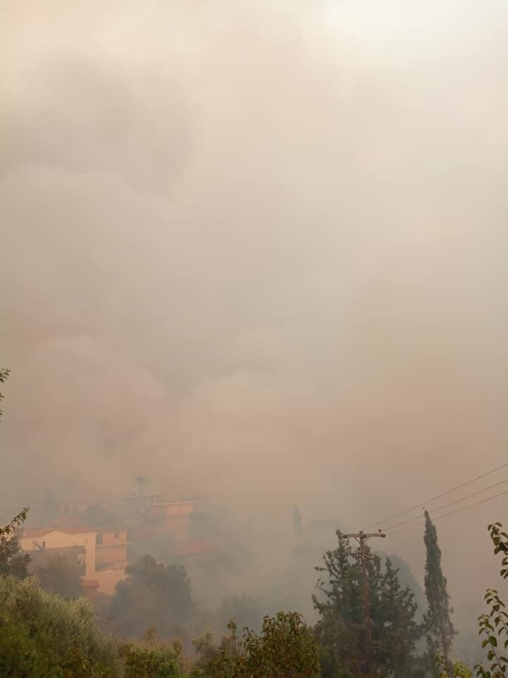Ηλεία: Ανησυχία για το μέτωπο στη Νεμούτα - Συνεχείς οι αναζωπυρώσεις