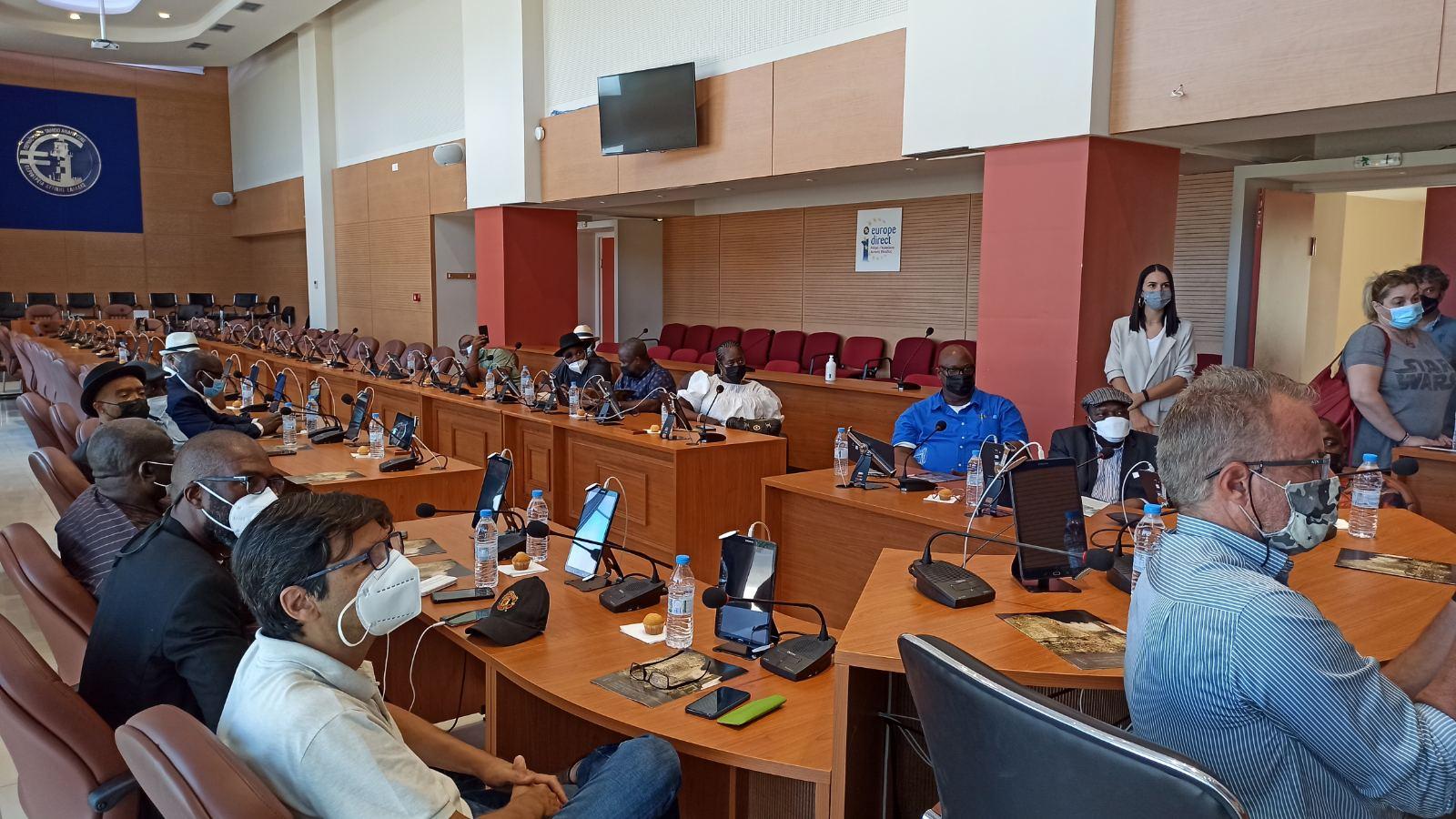 Νιγηριανή αντιπροσωπεία στην Περιφέρεια Δυτικής Ελλάδας για την ανάπτυξη συνεργασίας στον τομέα των υδατοκαλλιεργειών
