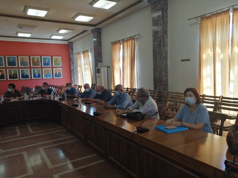 Δήμος Πύργου: Σύσκεψη των αρμοδίων φορέων για την αποκατάσταση των πληγεισών περιοχών