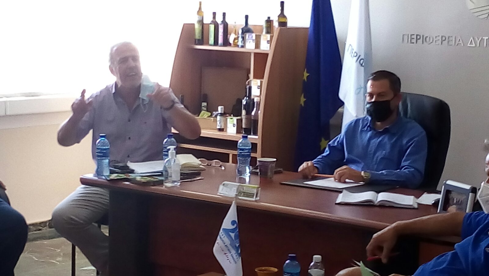 Ηλεία: Νέα σύσκεψη του Αντιπ/άρχη Θ. Βασιλόπουλου με διοικητικά συμβούλια και εργαζόμενουςτων TOEB